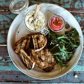 Food & Wine: Smoked Sturgeon Spread with Grilled Bread
