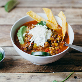 Food & Wine: Tortilla Soup with Lentils