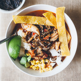 Food & Wine: Tortilla Soup with Wild Rice