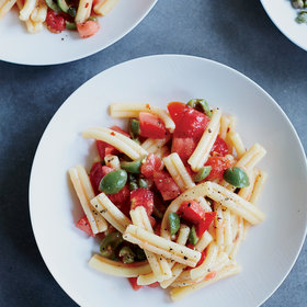 Food & Wine: Pasta with Fresh Puttanesca Sauce