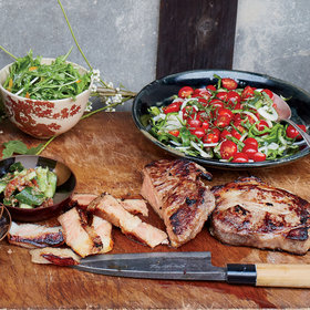 Food & Wine: Shio Koji-Marinated Pork Shoulder Steaks