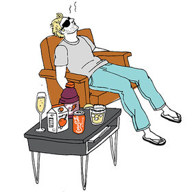 Food & Wine: How to Survive Your Post-Holiday Party Hangover at the Office