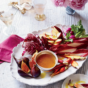 Food & Wine: Honey Citronette with Crudités