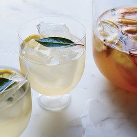 Food & Wine: Roasted Lemon and Bay Leaf Hard Lemonade