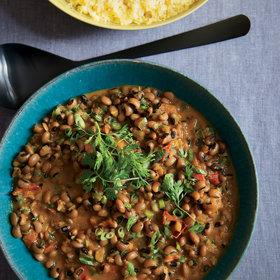 mkgalleryamp; Wine: Black-Eyed Peas with Coconut Milk and Ethiopian Spices