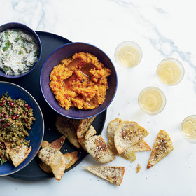 Food & Wine: Butternut Squash and Tangelo Dip with Sage