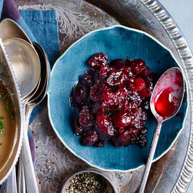 Food & Wine: Cranberry Sauce with Dried Cherries