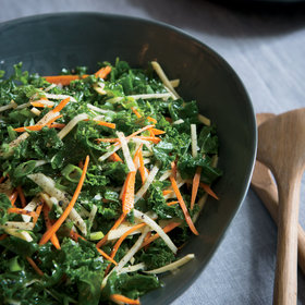 Food & Wine: Kale Salad with Root Vegetables and Apple