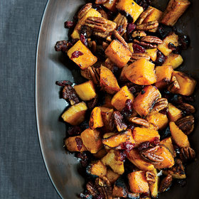 Food & Wine: Roasted Butternut Squash with Spiced Pecans