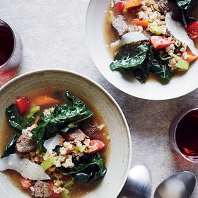 Food & Wine: Beef-and-Farro Soup