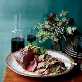 Food & Wine: Dry-Aged Roast Beef with Fresh Hot Sauce