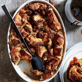 Food & Wine: Sausage-and-Maple Bread Pudding