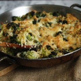 Food & Wine: Quinoa Broccoli-Cheddar Gratin