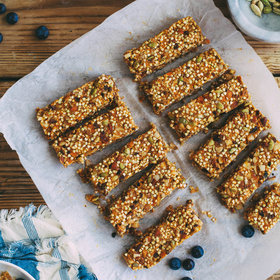Food & Wine: Granola Bars with Sweet Potato Caramel and Cardamom