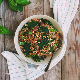 Food & Wine: Kale Pad Thai with Daikon Radish