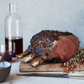 Food & Wine: Pepper-Crusted Prime Rib Roast