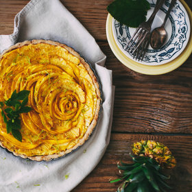 Food & Wine: Pineapple and Lime Tart