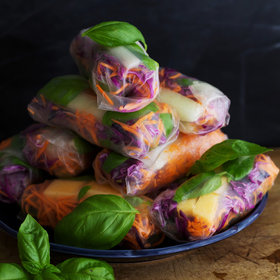 Food & Wine: Summer Rolls with Melon and Basil