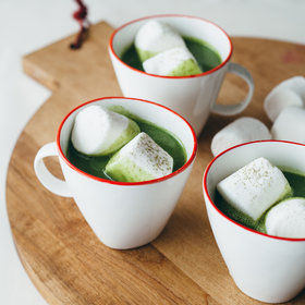 Food & Wine: Matcha White Hot Chocolate