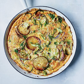 mkgalleryamp; Wine: Brussels Sprout Tortilla
