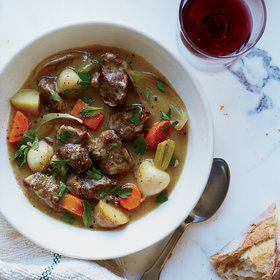 Food & Wine: Irish Lamb and Turnip Stew
