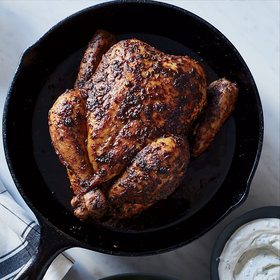 Food & Wine: Roast Chicken Paprikash with Watercress and Dilled Sour Cream
