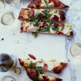 Food & Wine: Scallop-and-Bacon Pizza