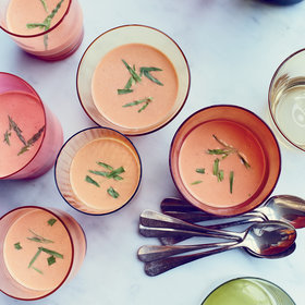 Food & Wine: Shrimp Bisque with Muscadet and Tarragon