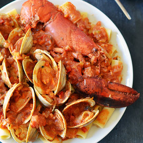 Food & Wine: Clams and Lobster Enchilada