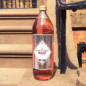 Food & Wine: 40-Ounce Bottles of Rosé Are the Trend 2017 Has Been Waiting For