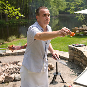 Food & Wine: Jean-Georges Vongerichten's Pig Roast