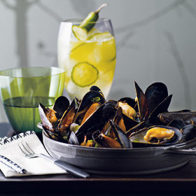 Food & Wine: 11 Ways to Upgrade Steamed Mussels