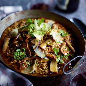 Food & Wine: 5 Chef Upgrades for Mushroom Risotto