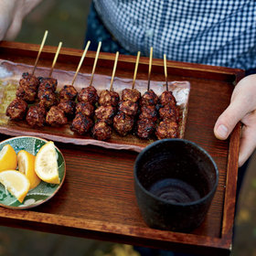 Food & Wine: Easy Chicken-Meatball Yakitori
