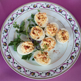 Food & Wine: 6 Chefs Upgrades to Deviled Eggs