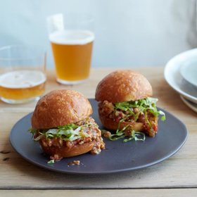Food & Wine: 5 Bite-Size Super Bowl Sliders
