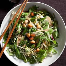 Food & Wine: Mixed Asian Salad with Macadamia Nuts