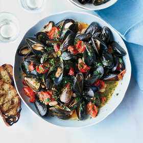 Food & Wine: Mussels