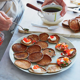Food & Wine: How to Throw a Bellini-and-Blini Brunch Party