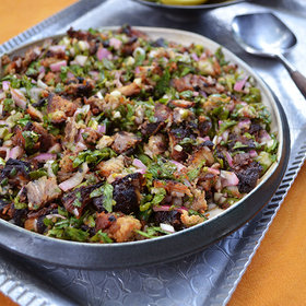 Food & Wine: NYE Supper: Pork Belly Sisig
