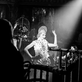 Food & Wine: Performance Art Meets Culinary Excess at a Hyper-Glam Supper Club
