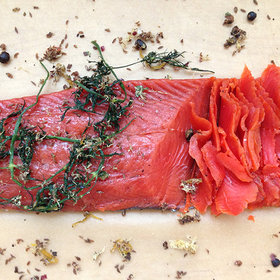 Food & Wine: DIY Cured Salmon