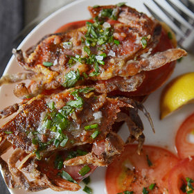 Food & Wine: Andrew Zimmern's Soft-Shell Crab Toasts