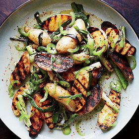 Food & Wine: 7 Crunchy, Tender Grilled Potato Recipes