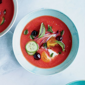 Food & Wine: How David Chang Transforms Greek Salad into Greek Gazpacho