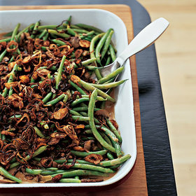 Food & Wine: Thanksgiving Green Bean Recipes