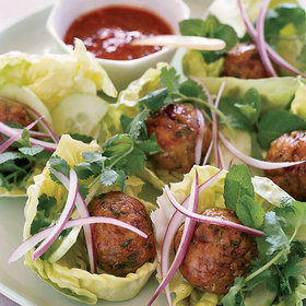 Food & Wine: Lettuce Wraps