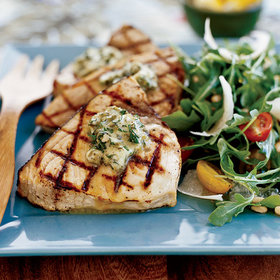 Food & Wine: Grilled Swordfish Recipes