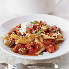 Food & Wine: Pappardelle