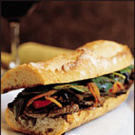 Food & Wine: Hot Strip Steak Sandwiches